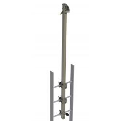 Support haut rallongé pour échelle Cabloc Protecta - Acier galvanisé