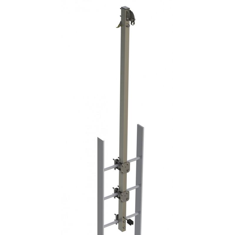 Support haut rallongé pour échelle Cabloc Protecta - Acier inoxydable