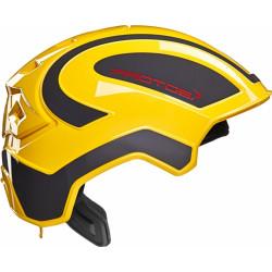 Casque de protection intégral Protos Industry PFANNER noir/jaune