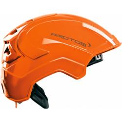 Casque de protection intégral Protos Industry PFANNER orange