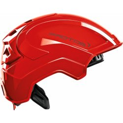 Casque de protection intégral Protos Industry PFANNER rouge