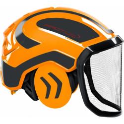Coquille anti bruit pour casque Protos Integral orange/gris