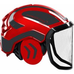 Coquille anti bruit pour casque Protos Integral rouge/gris