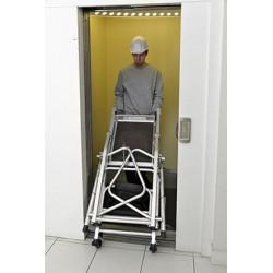 Plateforme individuelle roulante spéciale escalier Dahu DUARIB