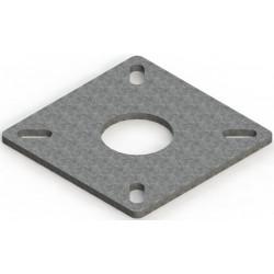 Contre platine pour poteau d'ancrage Soll ANTEC