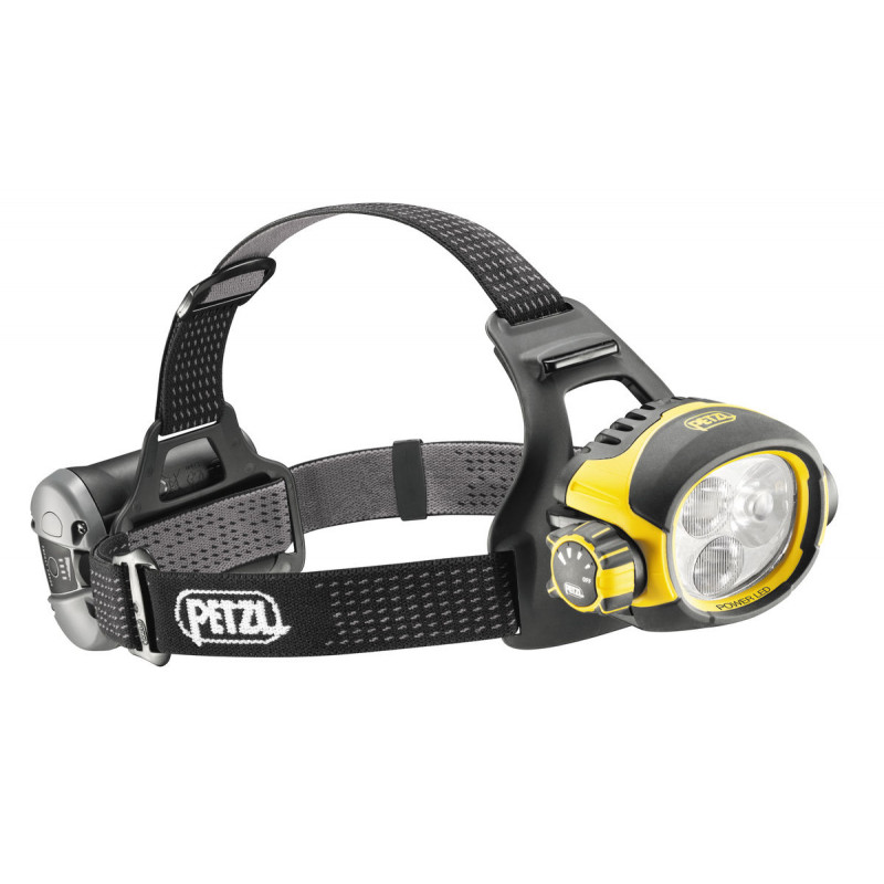 Lampe frontale professionnelle PETZL Ultra Vario