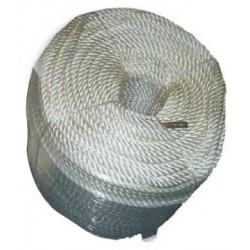 Corde d'attache pour filet de sécurité antichute
