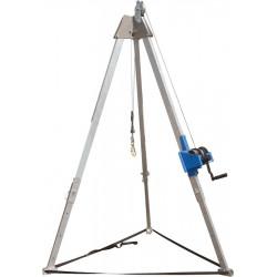 Trépied Tracpode avec kit poulie et treuil TRACTEL - Tripode de sécurité
