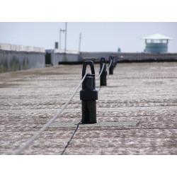 Ligne de vie réglementaire pour toiture bac étanche