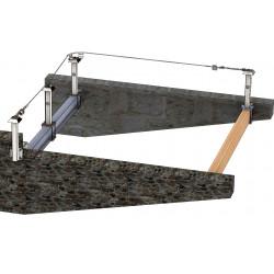 Ligne de vie charpente métallique ou bois à brider