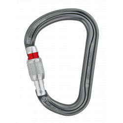 Mousqueton grande ouverture William Screw Lock Petzl