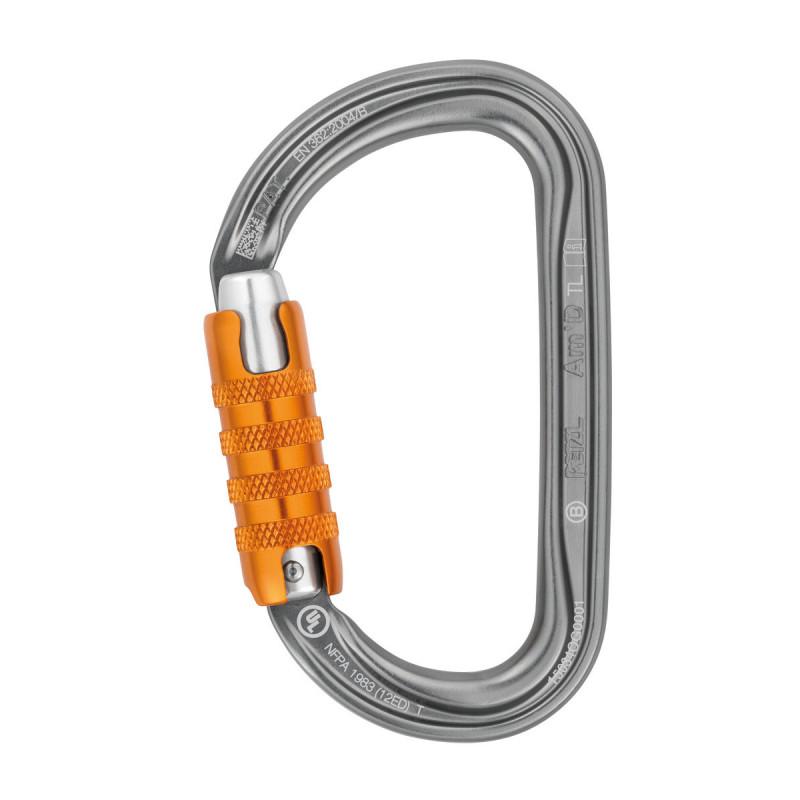 Mousqueton Petzl Am'D Triact Lock
