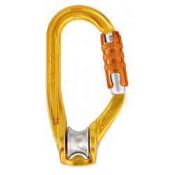 Poulie mousqueton Rollclip Triact Lock Petzl