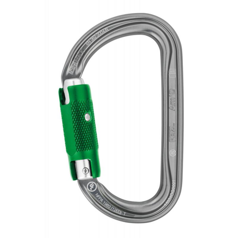 Mousqueton de sécurité Am'D Pin Lock Petzl