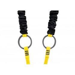 Longe double Petzl Absorbica-Y Tie-Back