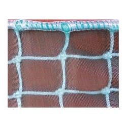 Filet de protection avec doublure pare-gravat pour la prévention des chutes de matériaux