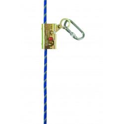 Antichute sur corde blocmax
