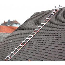 Echelle de toit en aluminium Centaure