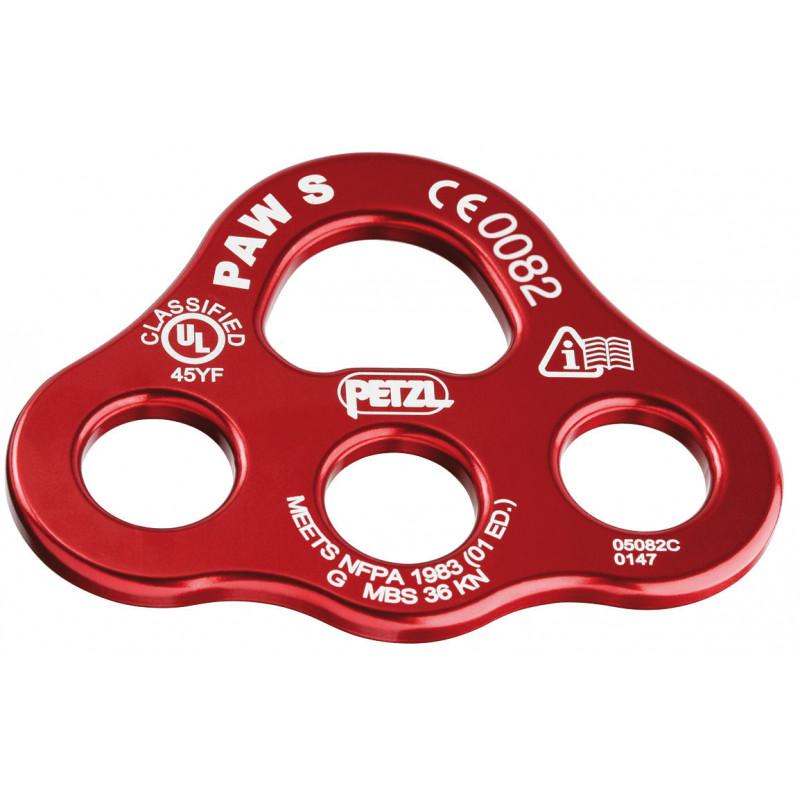 Multiplicateur d'amarrage Petzl Paw S rouge