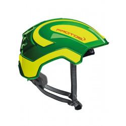 Casque Protos Integral Climber - Travaux en hauteur vert/jaune