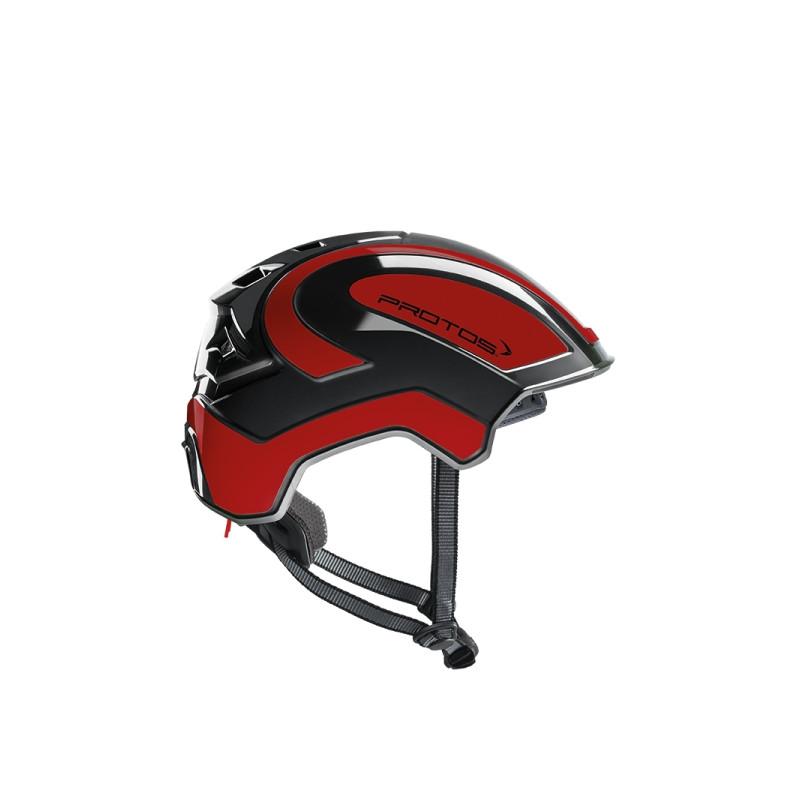 Casque Protos Integral Climber - Travaux en hauteur noir/rouge
