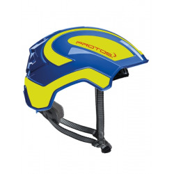 Casque Protos Integral Climber - Travaux en hauteur bleu/jaune fluo