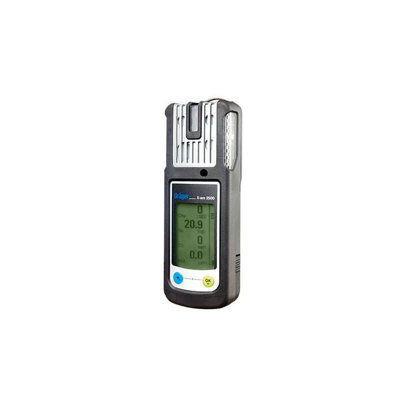 Détecteur 4 gaz portable X-AM 2500 (Explo, O2, CO, H2S)