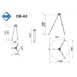 TREPIED DB-A3-3 PERS - IKAR
