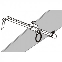 TRACTEL - Ancrage charpentier Rollclamp