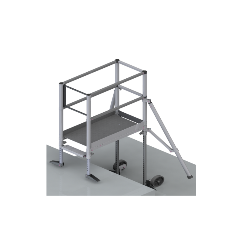 Echafaudage PFEC spécial escalier