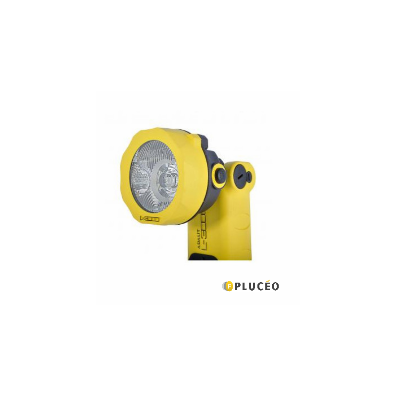 Lampe Torche LED ATEX ZONE 0 + chargeur