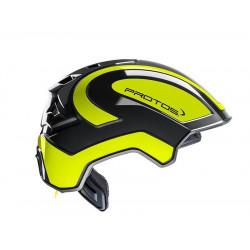 PFANNER - Casque de sécurité Industry - Protos noir/jaune fluo