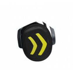 PFANNER - Coquilles anti bruit pour casque Protos Integral noir/jaune fluo