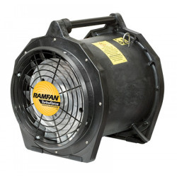Ventilateur 30cm 3/4HP 115/240V 50/60 Hz IECEX/ATEX blower- Wired 240V - 30cm duct adapters-ATX