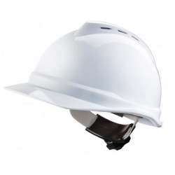 Casque de protection V Gard 500 MSA Blanc
