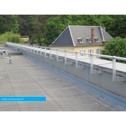 Garde-corps en applique pour toiture industrielle par Plucéo