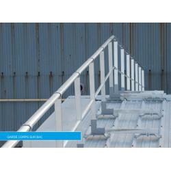 Garde corps professionnel pour toiture bac acier Plucéo