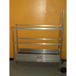 Position de rangement de la plate forme spéciale escalier PFE Ultralu