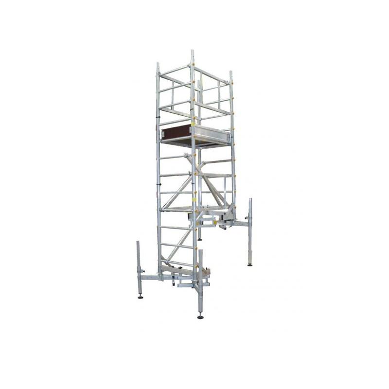 Echafaudage Ultralu Escalutop spécial escalier
