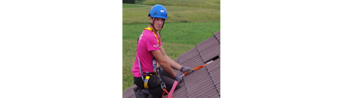PETZL LIGNE DE VIE - Dispositif fiable et de sécurité travaux toiture