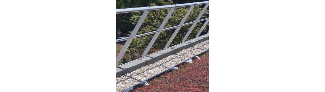 GARDE-CORPS - Toiture/balustrade/rambarde de sécurité