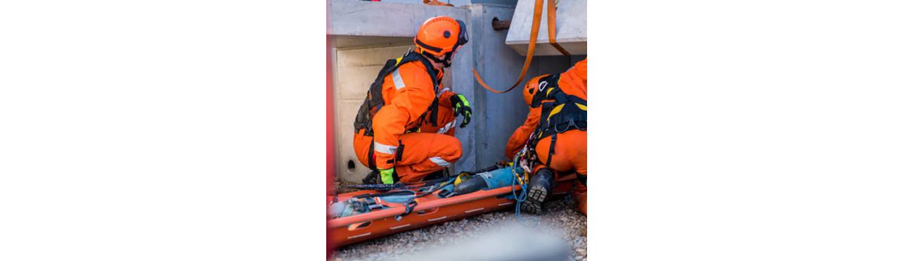 MATERIEL SECOURS - Matériel d'évacuation tripodes treuils