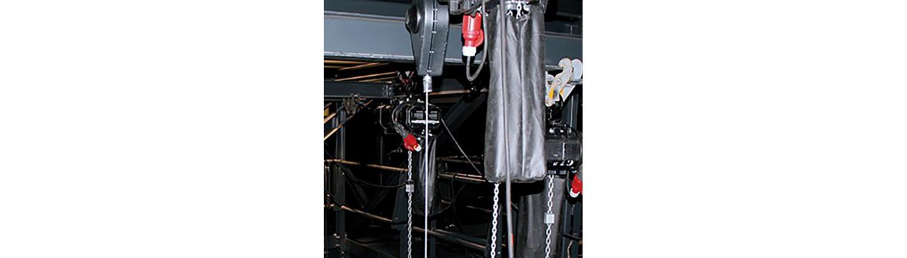 Antichute de charge - sécurité travaux d'accès difficiles