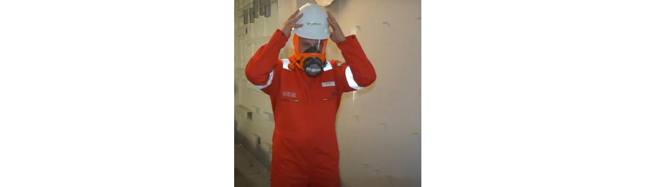 PROTECTION RESPIRATOIRE-Masque auto-sauveteur milieu confiné