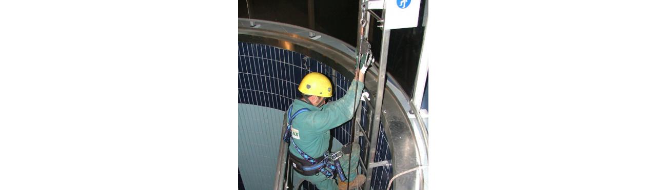 Ancrage pour les accès difficile et travaux en hauteur