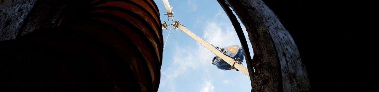 antichutes tripodes et ventilateurs pour le CATEC
